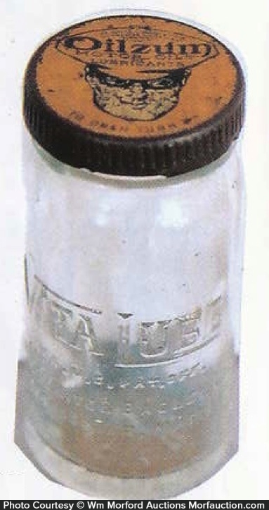 Oilzum Lubricants Bottle