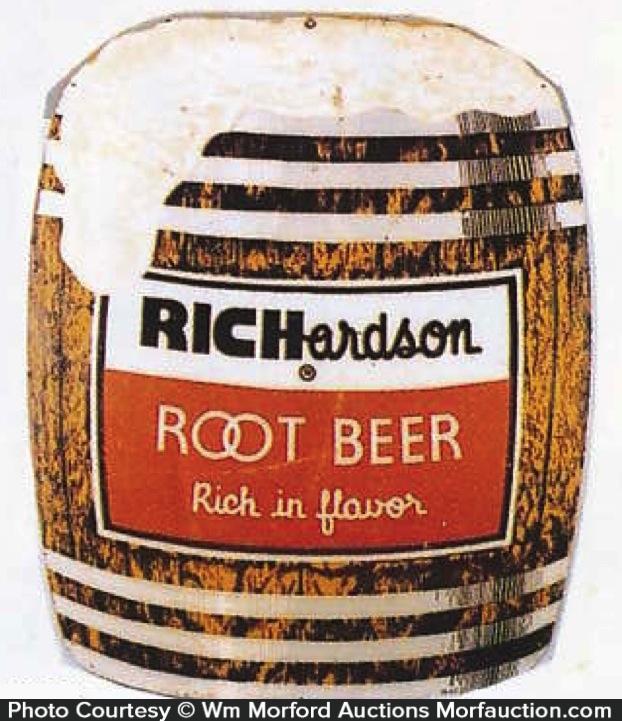 Richardson Root Beer Sign