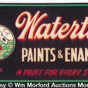 Watertite Paint Sign