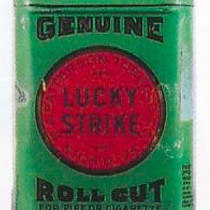 Lucky Strike Tobacco Sample Tin