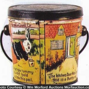 Peter Rabbit Candy Pail