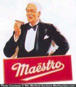 Maestro Cigar Sign