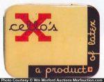X-Cello's Condom Tin