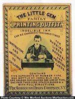 Little Gem Printing Box