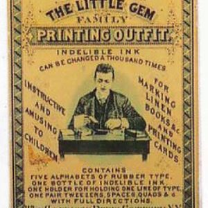 Little Gem Printing Box