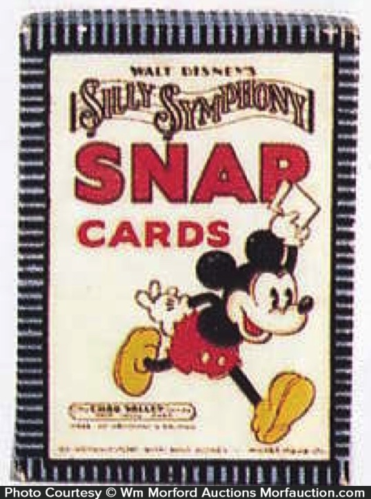 Disney Silly Symphony Card Game