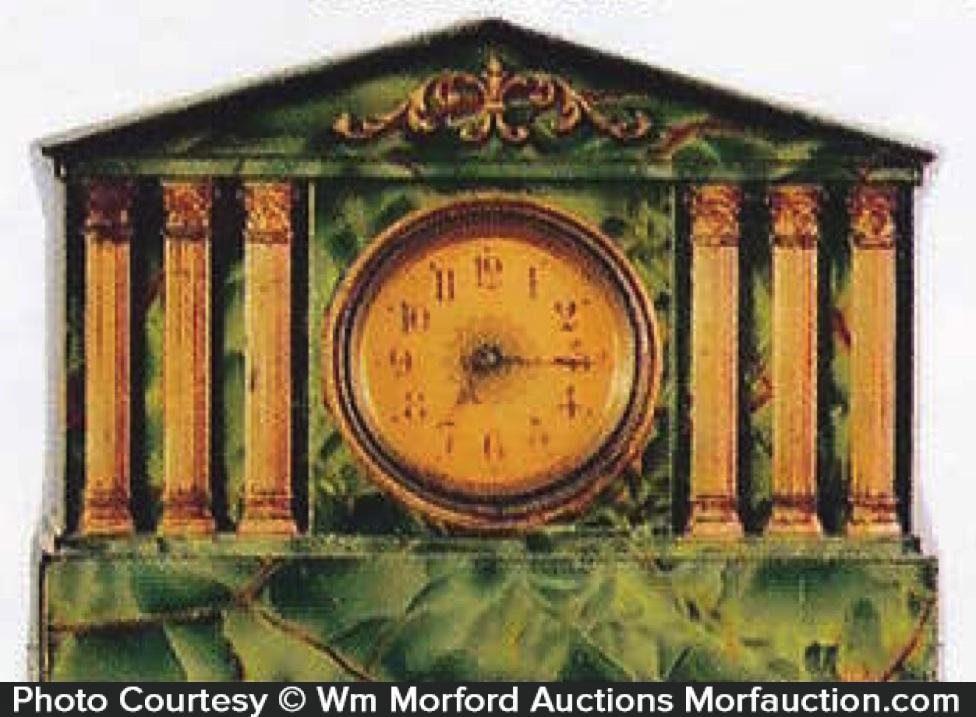 Clock Biscuit Tin