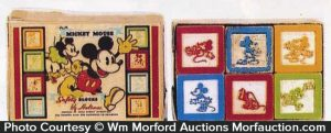 Mickey Mouse Safety Blocks