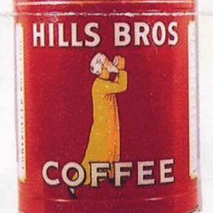 Hills Bros. Coffee Tin