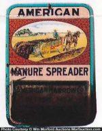 American Manure Spreader Match Holder