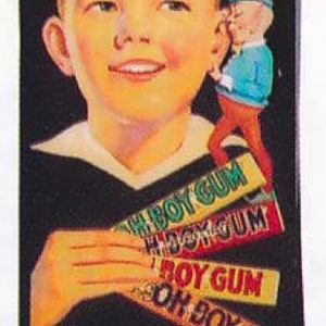 Oh Boy Gum Sign