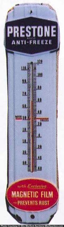 Prestone Anti-Freeze Thermometer