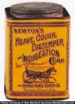 Newton's Indigestion Cure Tin