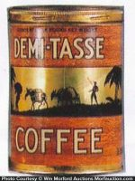 Demi-Tasse Coffee Can