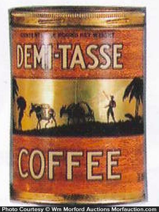 Demi-Tasse Coffee Can