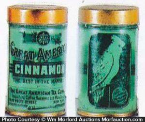 Great American Tea Tins