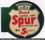 Spur Soda Sign