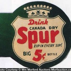 Spur Soda Sign