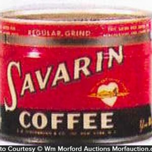 Savarin Coffee Can Bank