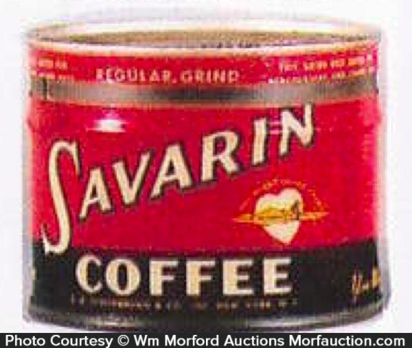 Savarin Coffee Can Bank