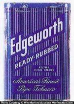 Edgeworth Ready Rubbed Tobacco Tin