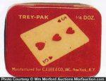 Trey-Pak Condom Tin