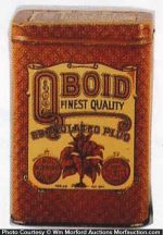 Qboid Tobacco Tin
