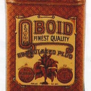 Qboid Tobacco Tin