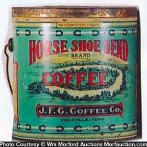 Horse Shoe Coffee Pail