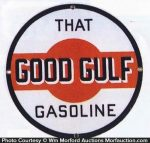 Good Gulf Gasoline Sign