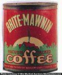 Brite-Mawnin Coffee Can