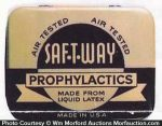 Saf-T-Way Prophylactic Tin
