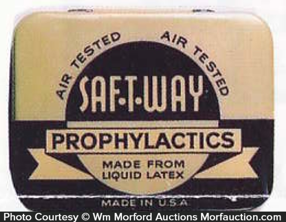 Saf-T-Way Prophylactic Tin
