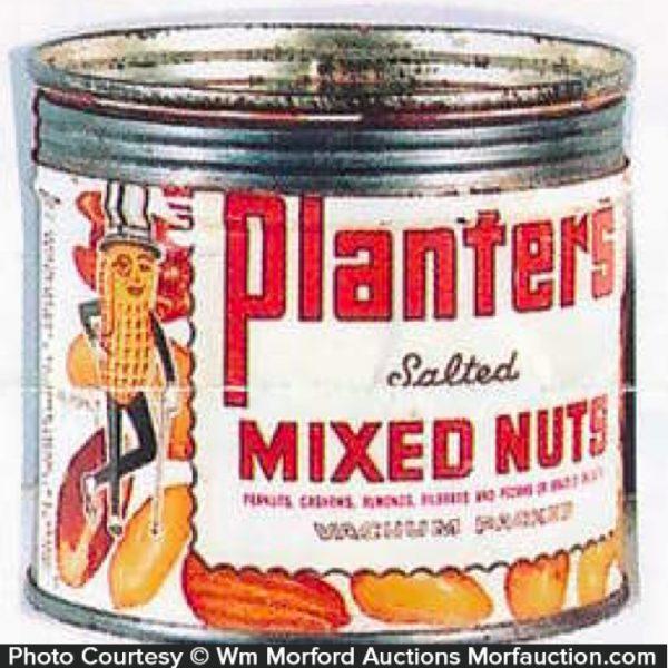 Planters Mixed Nuts Tin
