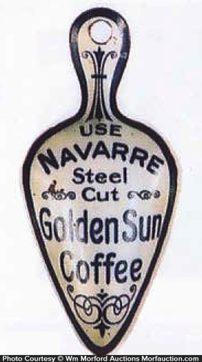 Golden Sun Coffee Scoop