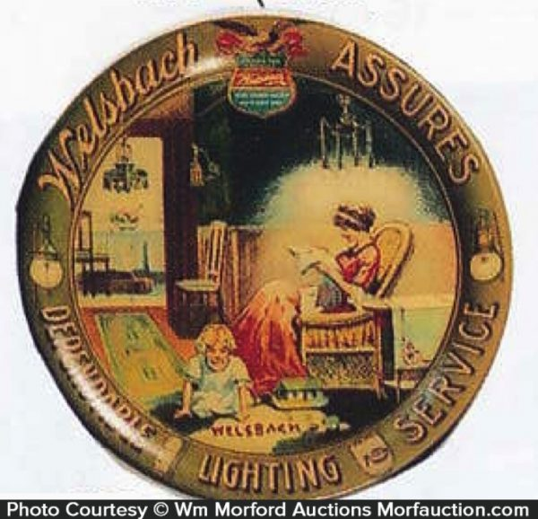 Welsbach Lighting Tip Tray