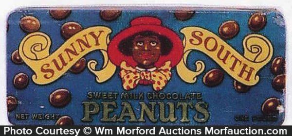 Sunny South Peanuts Tin