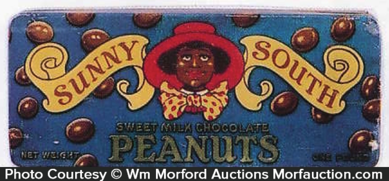 Sunny South Peanuts Tin