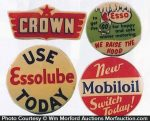 Oil Company Badges