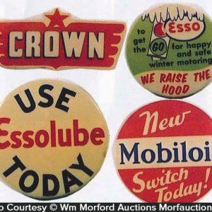 Oil Company Badges