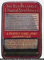 Ellwood Steel Fences Match Holder