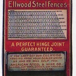 Ellwood Steel Fences Match Holder