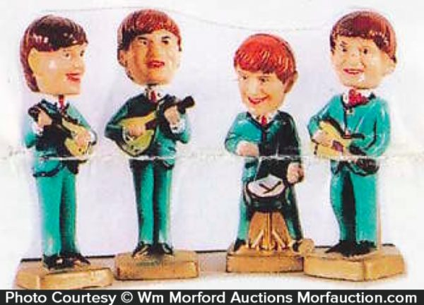 Beatles Toy Figures