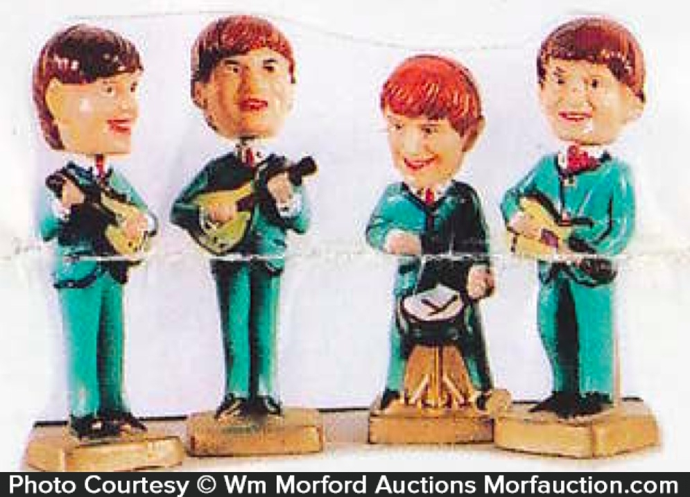 Beatles Toy Figures