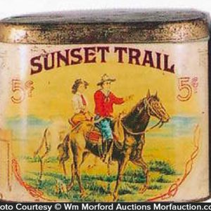 Sunset Trail Cigar Can