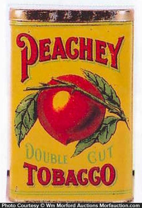 Peachy Tobacco Tin