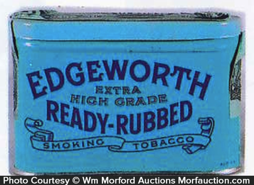 Edgeworth Ready Rubbed Sample Tin