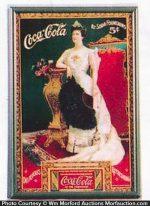 Vintage Coca-Cola Card