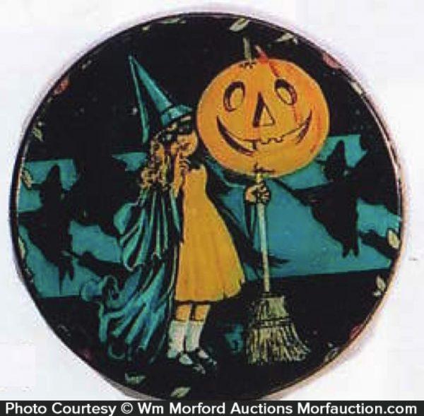 Vintage Halloween Tin