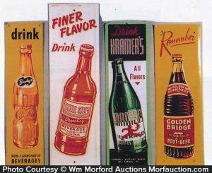 Vintage Soda Door Pushes